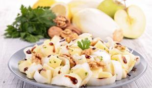 6 recettes de salades d'automne
