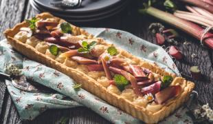 Les 3 meilleures recettes maison de tarte à la rhubarbe meringuée