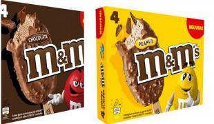 Le bâtonnet glacé M&M's a débarqué