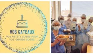 """""""Vos Gâteaux"""", une belle initiative pour gâter nos soignants"""