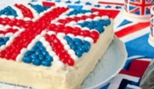 10 gâteaux drapeaux