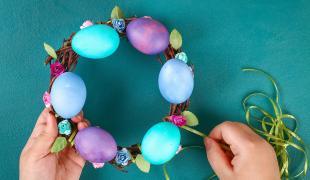 Des oeufs de Pâques originaux à faire avec des enfants