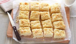 5 gâteaux crumble à tester