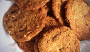 5 biscuits délicieusement croquants avec des flocons d'avoine