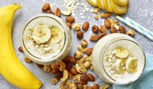 Nos recettes de smoothie banane pour faire le plein d'énergie