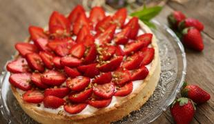 Les meilleures recettes de tarte aux fraises sans cuisson