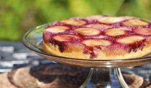 5 gâteaux renversés aux fruits d'été