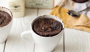 5 mug cakes 100% chocolat
