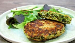 8 galettes végétales à glisser dans son burger