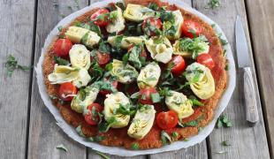 5 idées de pizzas pour ceux qui n'aiment pas le fromage fondu