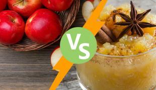 Compote vs fruit : Un duel équitable ou pas ?
