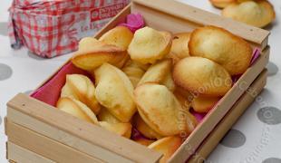 5 madeleines que l'on aime agrémenter avec des fruits