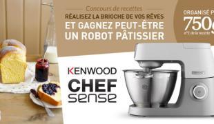 Préparez votre brioche de rêve et gagnez peut-être un robot pâtissier Kenwood (Chef Sense)