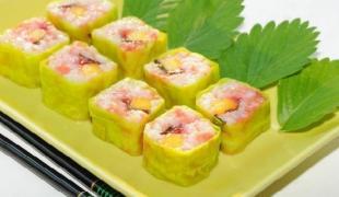 10 recettes de makis revisités en version sucrée