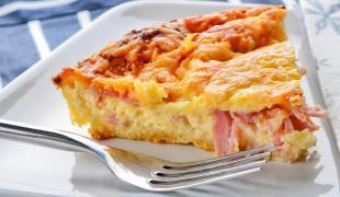 Les meilleures recettes de tartes salées au jambon