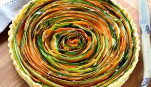 5 tartes végétariennes au joli look