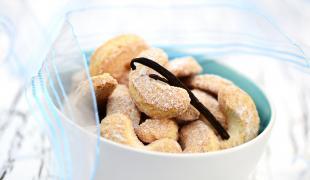 5 biscuits sublimés grâce à la poudre d'amande