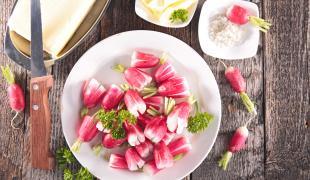 Nos idées pour un apéro aux légumes de printemps