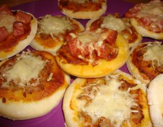 Recette Mini Pizzas Maison En Video