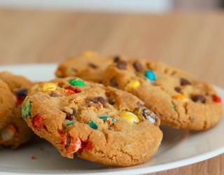Recette Cookies Faciles Aux M M S En Video
