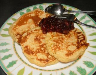 Recette - Pancake au yaourt   750g