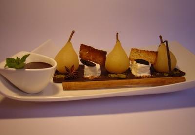 recettes de poires aux pices les recettes les mieux not es. Black Bedroom Furniture Sets. Home Design Ideas