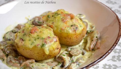 Recettes de pommes de terre farcies les recettes les - Cuisiner le lapin au four ...
