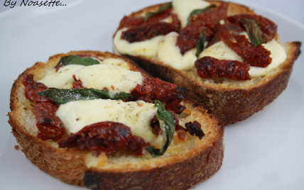Recette tartine d 39 t l g re not e 4 2 5 for Idee entree legere