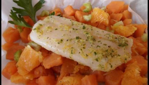 Recette papillote de cabillaud gingembre agrumes et - Quand recolter les patates douces ...