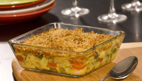 recette gratin de l gumes du soleil fa on crumble 750g. Black Bedroom Furniture Sets. Home Design Ideas