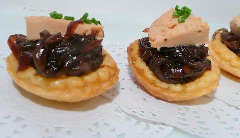 canard farci foie gras