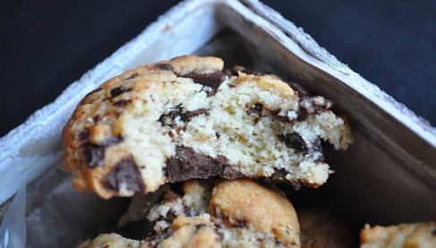 recettes de cookies moelleux les recettes les mieux not es. Black Bedroom Furniture Sets. Home Design Ideas