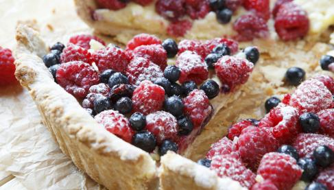 recette tarte aux fruits rouges not e 4 1 5. Black Bedroom Furniture Sets. Home Design Ideas