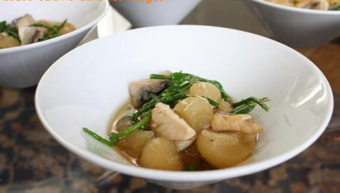 Recette p tisson terre mer 750g - Cuisiner les salicornes ...