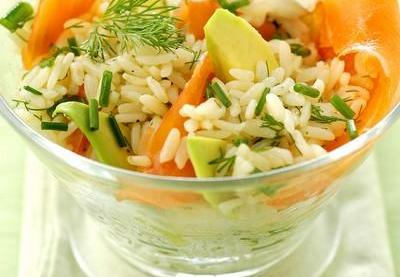 recette salade de riz l avocat et saumon fum sp cial salade 750g. Black Bedroom Furniture Sets. Home Design Ideas