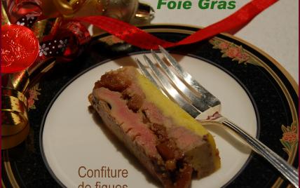 Recette foie gras en terrine et confiture de figues s ches 750g - Recette foie gras en terrine ...