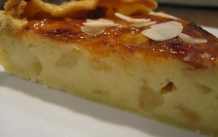 recette tarte flan aux pommes 750g. Black Bedroom Furniture Sets. Home Design Ideas