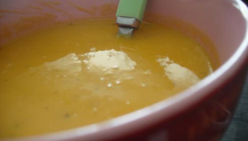 recette soupe carottes coco et curry not e 4 1 5. Black Bedroom Furniture Sets. Home Design Ideas