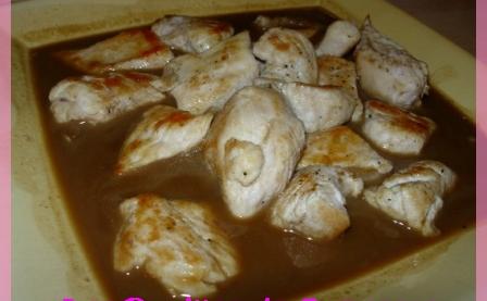Recettes de sauce pour poulet les recettes les mieux not es - Comment cuisiner les blancs de poulet ...