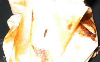 aumonieres de raisin au coulis de muscade