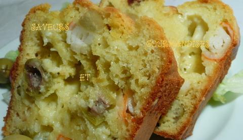 Cake Aux Olives  Personnes