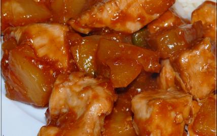 recettes de poulet sauce aigre douce les recettes les mieux not es. Black Bedroom Furniture Sets. Home Design Ideas