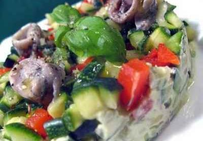 petits legumes farcis au carre frais