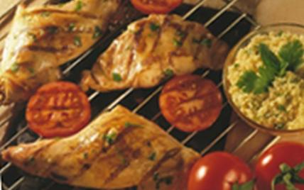 recette epaules de lapin au barbecue 750g