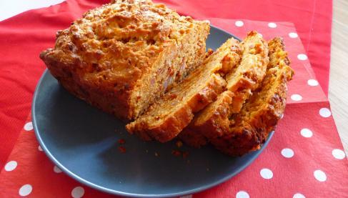 Cake Chevre Surimi Lardons