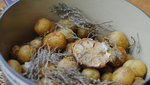 recette cocotte de pommes de terre primeur de noirmoutier au gros sel gris not e 4 2 5. Black Bedroom Furniture Sets. Home Design Ideas