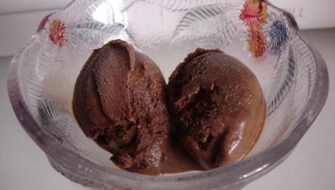 recette glace au chocolat au lait de soja not e 5 5. Black Bedroom Furniture Sets. Home Design Ideas