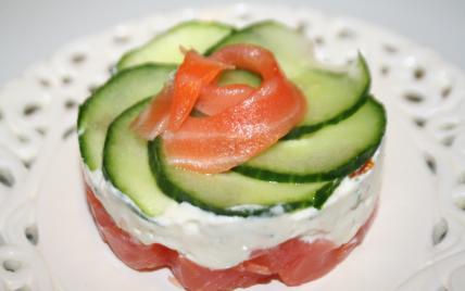 Recette fra cheur de saumon 750g for Entree gastronomique originale