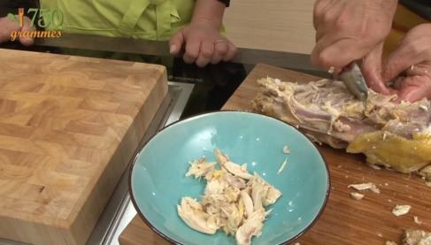 Utiliser les restes d 39 un poulet r ti vid o - Comment cuisiner un reste de poulet ...