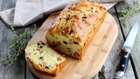 Cake Jambon Brie